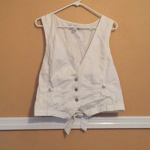 Loft XL Button Vest